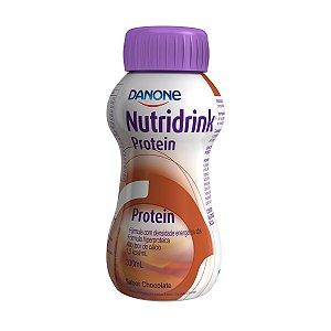 Nutridrink Protein - 200 ml - Sabor Chocolate - Danone