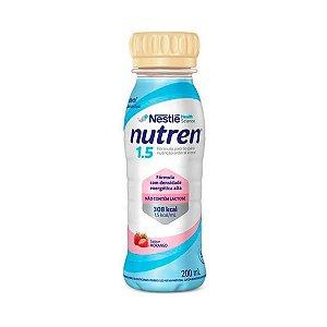 Nutren 1.5 - 200ml - Morango - Nestlé