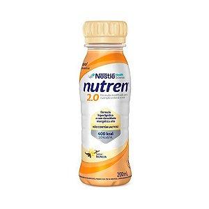 Nutren 2.0 - 200ml - Baunilha - Nestlé