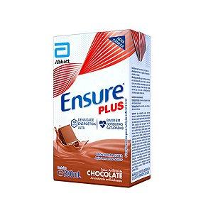 Ensure Plus 200ml - Sabor Chocolate - Abbott
