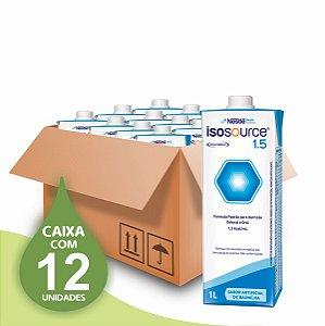 Isosource 1.5 - 1L - Nestlé - Caixa com 12 unidades