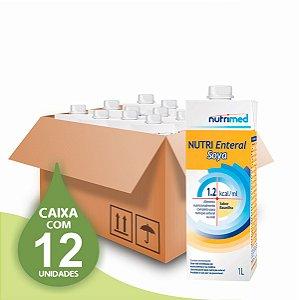 Nutri Enteral Soya 1.2 - Nutrimed - Caixa com 12 unidades