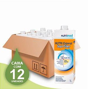 Nutri Enteral Soya Fiber 1.2 - Nutrimed - Caixa com 12 unidades