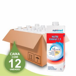 Nutri Enteral 1.5 - Nutrimed - CAixa com 12 unidades