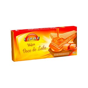 Biscoito Wafer Doce de Leite 115g - APLV - Liane