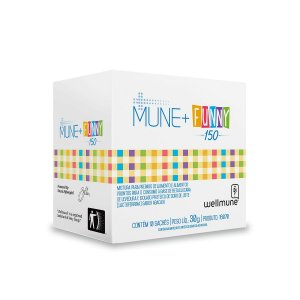 Mune+ Funny 150 - 10 Sachês - Clinic Mais