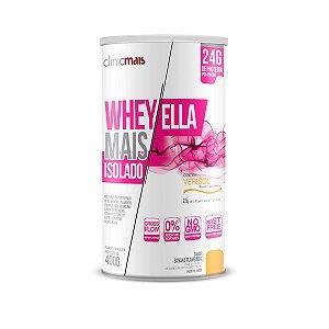 Whey Mais Ella Isolado 400g - Sabor Banana Flanbada - Clinic mais