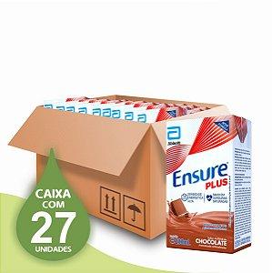 Ensure Plus 200ml - Sabor Chocolate - Abbott - Caixa com 27 unidades