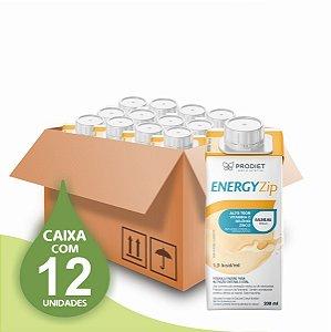 Energyzip - Baunilha – 200 ML - Prodiet - Caixa com 12 unidades