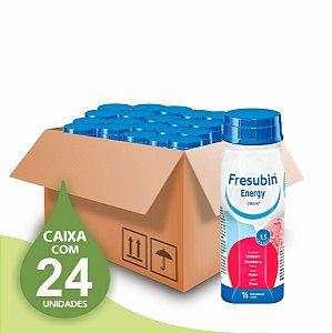 Fresubin Energy Drink - Morango - 200ml - 1.5 - Fresenius - Caixa com 24 unidades