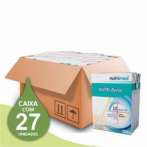 Nutri Renal 200ml - Nutrimed - Caixa com 27 unidades
