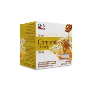Chá Camomila e Laranja - 10 Saches - Clinic Mais