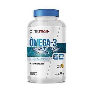 Omega 3 mais 500 - 100 Cápsulas - Clinic Mais