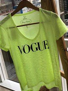 T-shirt Flamê Neon VOGUE