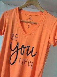 T-Shirt BeYOUtiful bordada