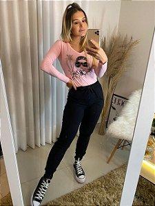 Blusa Friday rosa