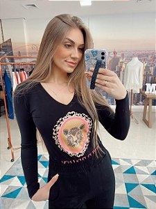 T-shirt Onça