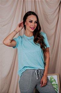 T-Shirt La Vie Est Belle azul