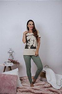 T-shirt Marilyn & cat ♥