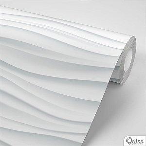 Papel de Parede Adesivo 3D Ondas