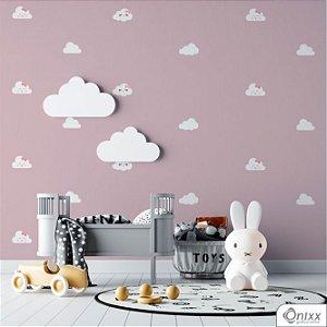 Kit de Adesivos Nuvens Irmãs