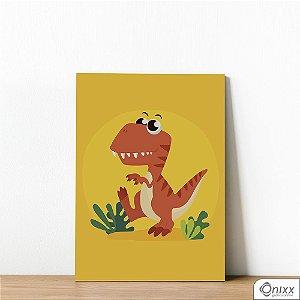 Placa Decorativa T-rex Triller