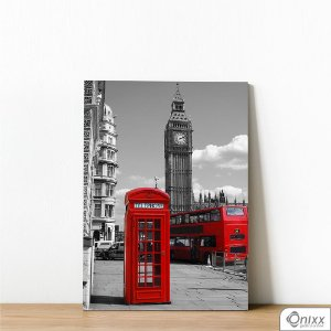 Placa Decorativa Cabine Telefônica Inglaterra PB