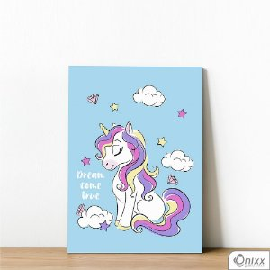 Placa Decorativa Unicorn Dream