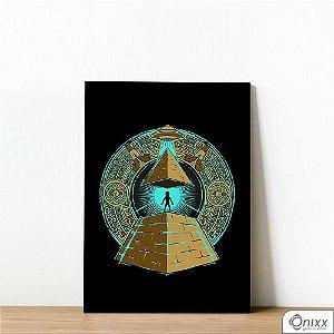 Placa Decorativa Uffo Illuminati