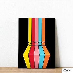 Placa Decorativa Pacman