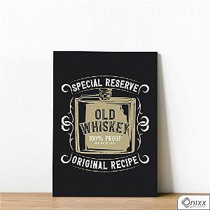 Placa Decorativa Old Whiskey