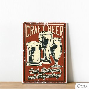 Placa Decorativa Craft Beer