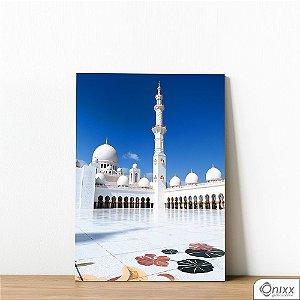 Placa Decorativa White Mosque