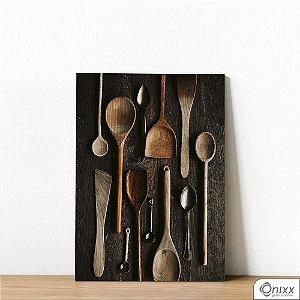 Placa Decorativa Craft Food Utensils