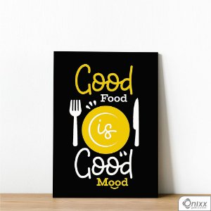 Placa Decorativa Good Food
