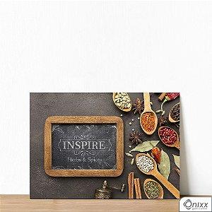 Placa Decorativa Inspire Spices