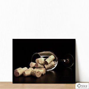 Placa Decorativa Reminders Of Good Wine