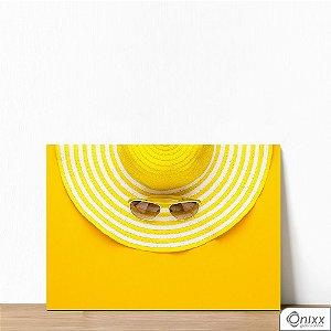 Placa Decorativa Yellow Vacation