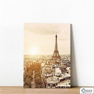Placa Decorativa Paris Em Sepia
