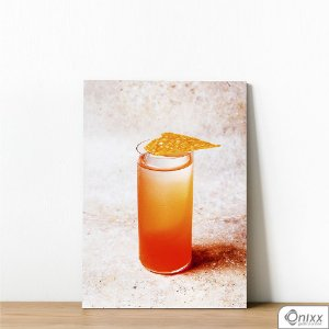 Placa Decorativa Yellow Drink