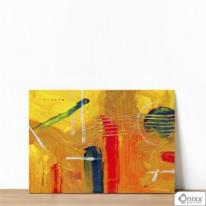 Placa Decorativa Yellow Artist
