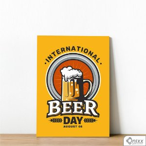Placa Decorativa International Beer Day