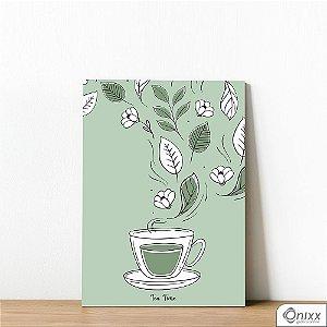 Placa Decorativa Tea Time