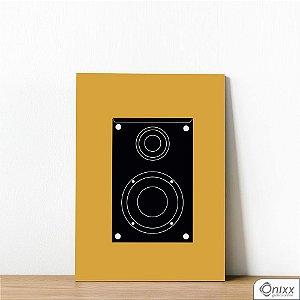 Placa Decorativa Série Sounds ( Box Sounds )