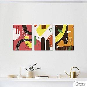 Kit de Placas Decorativas Colors Summer