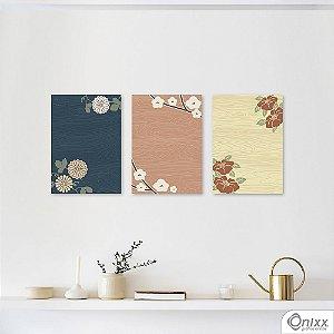 Kit de Placas Decorativas Japão