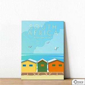Placa Decorativa Série Poster South Africa