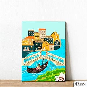 Placa Decorativa Série Love Italy Venice