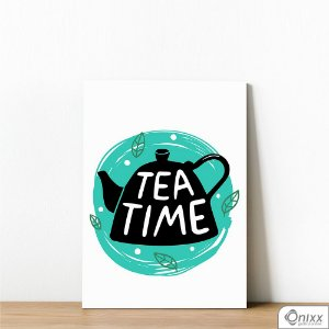 Placa Decorativa Série Cooking Colors ( Tea Time )