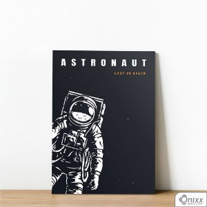 Placa Decorativa Série Lost In Space ( Astronaut )